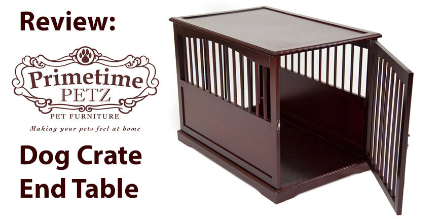primetime petz brown end table