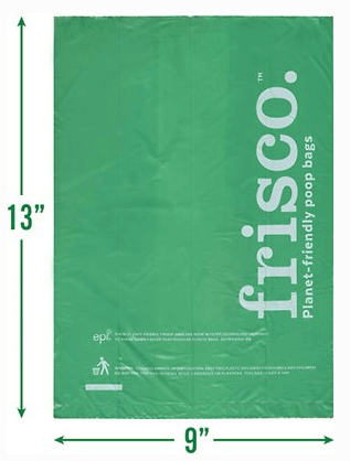 Frisco Refill Planet Friendly Dog Poop Bags