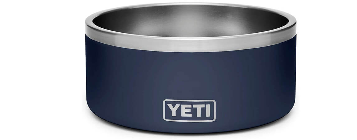 yeti no slip dog bowl